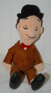 Laurel & Hardy Laurel Plush beanbag doll 1999 Larry Harmon