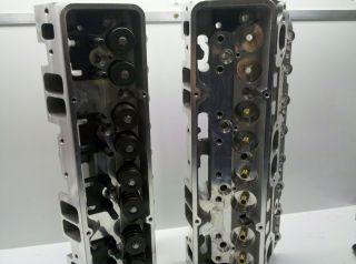 Pro Filer SBC Aluminun Heads 210cc Int Runners Angle Plug 2 055 1 60
