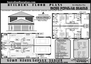 Investment 3 Bedroom Townhouse Unit Builders Floor Plan