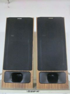 Vintage Pioneer CS N571 Floor Standing Wooden Speakers