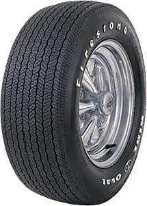 Coker Tire 62480 Firestone Wide Oval Tire