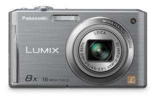Panasonic Lumix DMC FH27 Silver 16MP Digital Camera Bag