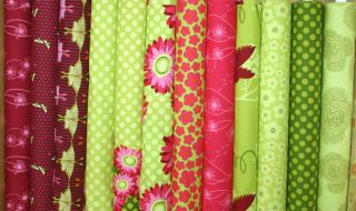Michael Miller Flora Fauna TA Dot Apple Fabric by Yard
