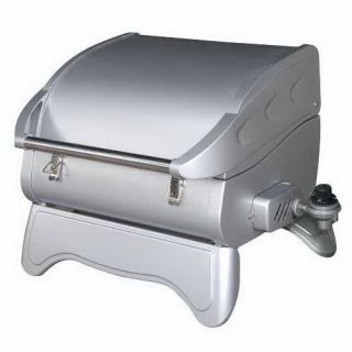 Dansons Little Guy Infrared Portable Propane Gas Grill Stainless Steel