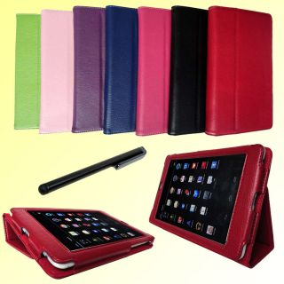 Folio Case Cover Stand for Google Nexus 7 Tablet Stylus Pen E44X