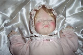 1983 LEE MIDDLETON DOLL FIRST MOMENTS SIGNED NUMBERED ASLEEP