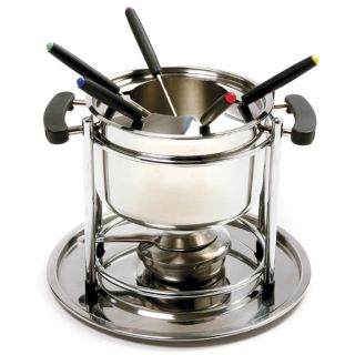 Norpro 18 10 Stainless Steel 11 PC Fondue Set 8 Cup