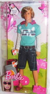 Barbie Camping Family Doll Ken Camp Fashions Cooler New