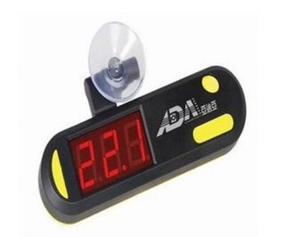 ADA Submersible LED Digital Display Thermometer Fish Aquarium Tank bby