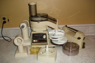 Kitchen Center Food Processor Mixer Meat Grinder Attachments Lot
