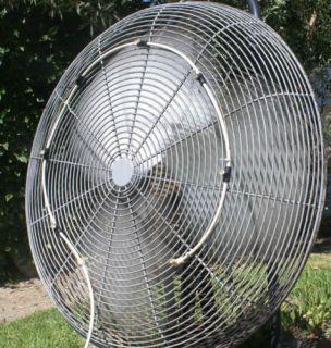 Misting Fan 7 Nozzle Outdoor Water Mister US Made w O Fan