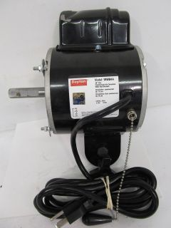 Dayton 1RWB4 Air Circulator Fan Motor Motor Only