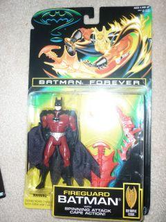 Fireguard Batman Fire Guard Val Kilmer Action Figure 1995