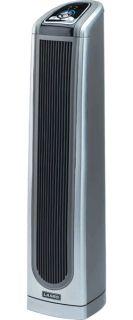 Lasko 34 Portable Ceramic Pedestal Heater Compact Electric Space Heat