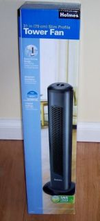 New Fan Holmes Cool Comfort Slim Tower 3 Speed Quiet