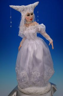 OOAK Character   WINTER   Fairytale Fantasy Art Doll by Tanya