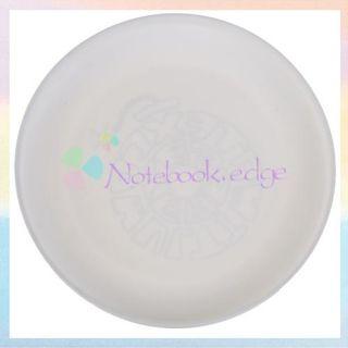 White Plastic Frisbee Flying Disc Beach Garden Park Kid Pet Dog Toy