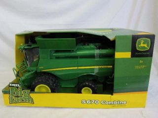 Tomy International Big Farm 1 16 John Deere S670 Combine