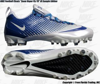 Nike Football Cleats Zoom Vapor Fly TD ID Sample 11 29cm White x