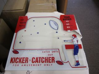 Frantz Kicker Catcher Football 1 Cent Penny Arcade Trade Stimulator