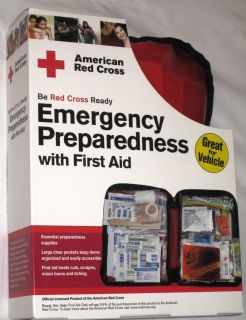 Cross Emergency Preparedness w First Aid Kit by First Aid Only