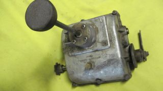 Foote 3 Speed Race Mower Vintage Riding Mower Transmission
