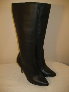 Womens FITZWELL MONTANA BROWN LEATHER BOOTS size 6 $179 NEW