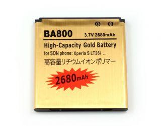 High Capacity Battery BA800 for Sony Ericsson Xperia s LT26i Nozomi