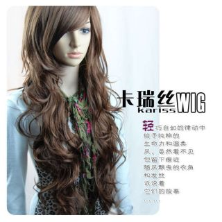 100 Japan Kanekalon 2011 New Fashion Sexy Girls Long Full Hair Wig