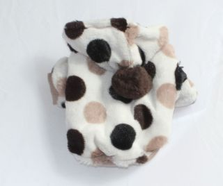 Pet Dog Cat Winter Warm Clothing Clothes Coat Fleece Jacket Y1049