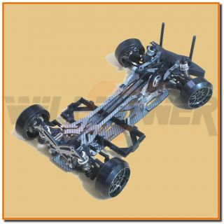 GT 1 10 Drift Car 532022 RC WillPower 4WD Electric Chassis Arr