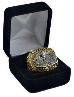 1999 St Louis Rams Championship Super Bowl Ring Faulk