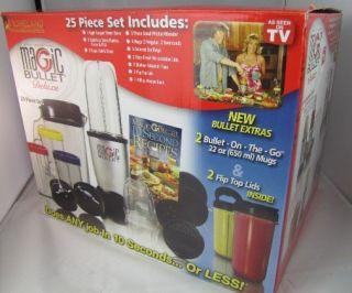 Set Magic Bullet Kitchen Blender Juicer Food Processor Express