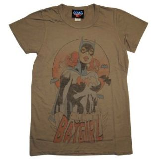 Batgirl DC Comics Junk Food Vintage Style Faded Soft Juniors T Shirt