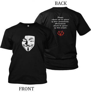 Shirt Occupy Wall Street 99 Guy Fawkes Mask Anonymous T Shirt