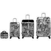 Fazzino Heys Manhattan New York City USA 4 Piece Luggage Heys Set Art