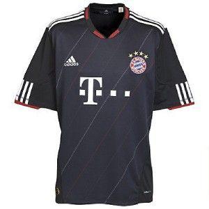 BAYERN MUNICH Adidas 3rd UCL Shirt 10/11 NEW M,XL. Munchen CL Jersey