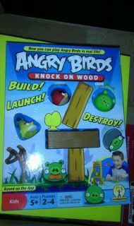 New Angry Birds Knock on Wood Game
