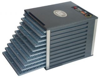 LEM Products 10 Tray Food Dehydrator with Digital Timer NEW