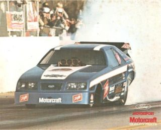Kenny Bernstein Ford Tempo Funny Car Raymond Beadle Blue Max Mustang