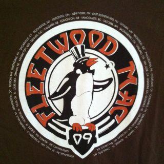 Fleetwood Mac Unleashed Tour 2009 T Shirt