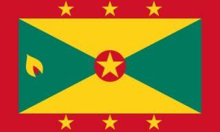 Grenada Flag Island of Spice Banner Caribbean Islands Pennant 3x5