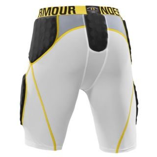 ARMOUR MENS MPZ 5 PAD FOOTBALL GIRDLE COMPRESSION SHORTS (SIZE SMALL