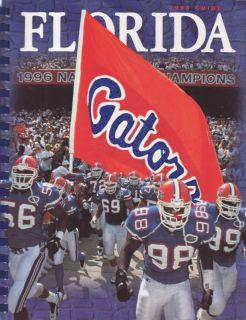 1998 Florida Gators Football Media Guide Steve Spurrier