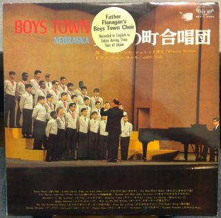 FATHER FLANAGANS BOYS TOWN CHOIR tour in japan 1968 LP Mint  H 5064