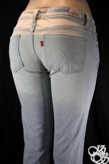 Levis Jeans Too Superlow 524 Flare Ultra Low Rise Pants