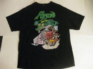 Poison Flesh Blood Tour Concert T Shirt Bret Michaels C C DeVille
