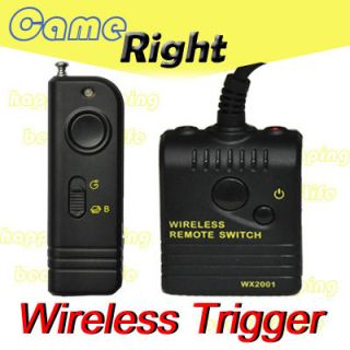 Wireless Remote Shutter for Canon 1Ds 50D 40D 30D 5D II 7D SLR Camera