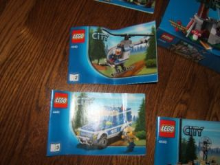 lego city forest police station 4440 set in box nr