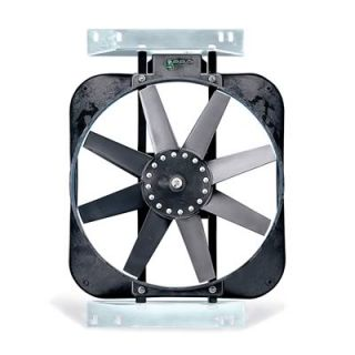 Flex A Lite Black Magic Electric Fan 2 800 CFM Puller 15 Dia Single